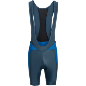 VAUDE Advanced III Bib Shorts Heren blauw